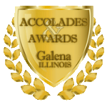 Accolades and Awards Galena IL Badge