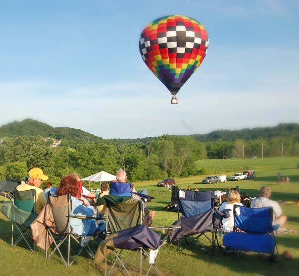 Galena Hot Air Balloon Watching