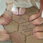 bridesmaids pedicures