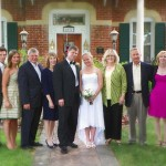 Cloran Mansion wedding group