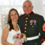 military couple wedding in IL