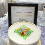 wedding vow renewal cake