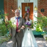 Cloran Mansion Wedding Couple