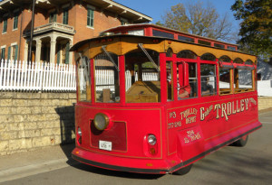 Take a Galena Trolley Tour